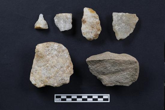 中国西北地区发现的旧石器遗址