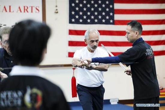 Former world champion brings Tai Chi into New Yorkers' life