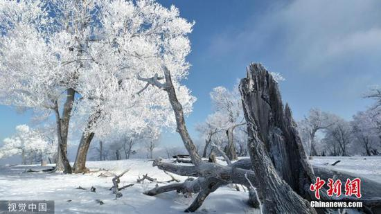 A winter wonderland in Northeast China's Tonghua