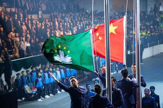 Macao students encouraged to know more about motherland