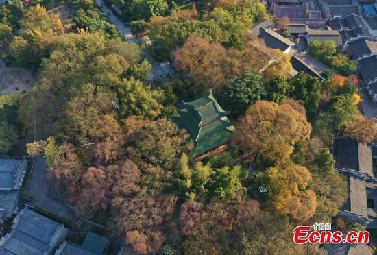 In pics: Pavilions on ancient city wall in Jiangxi
