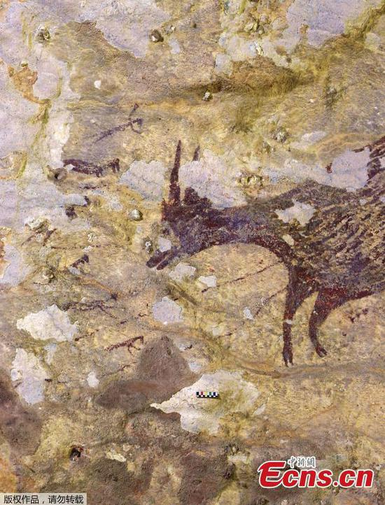 Indonesian cave art is earliest known record of 'story telling'
