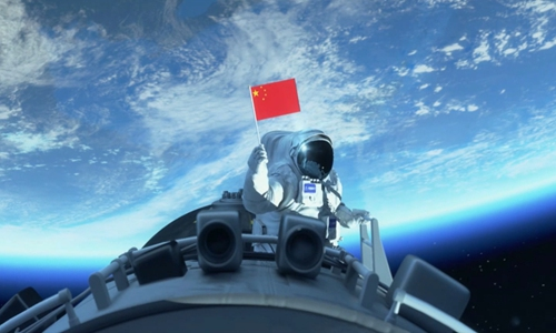 (Photo/Screenshot of China Manned Space Agency video)