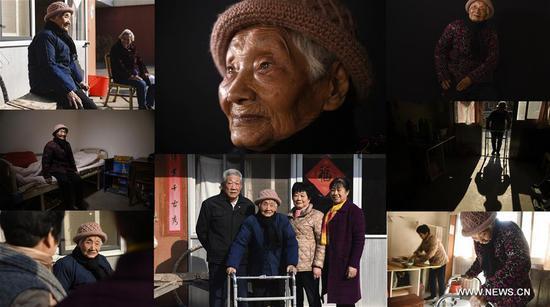 图片:南京大屠杀的幸存者