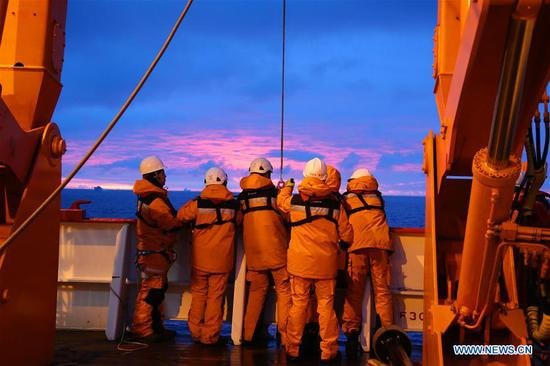 China's 36th Antarctic expedition to conduct multidisciplinary observations
