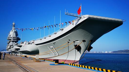 China reveals more details on its first domestically-built aircraft carrier