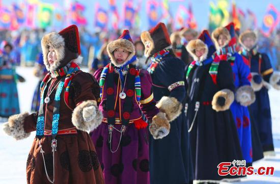 Winter Nadam kicks off in north China