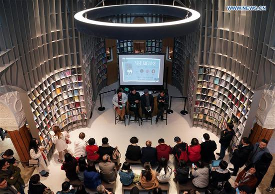 Poetry-themed bookstore opens in Shanghai