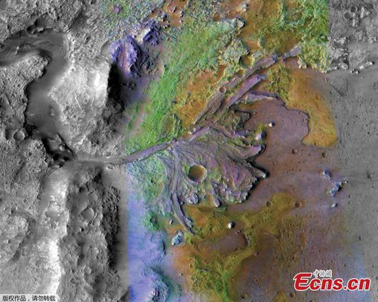 美国宇航局的火星2020漫游者计划搜寻火星化石,侦察载人任务
