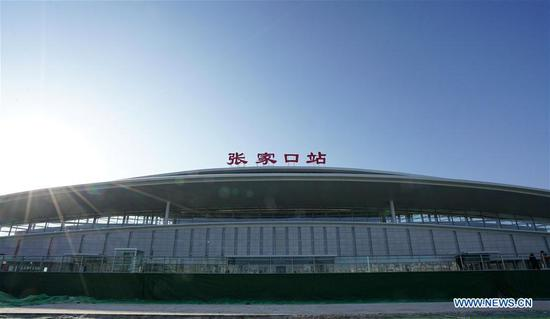 Beijing-Zhangjiakou high-speed railway goes into service Monday