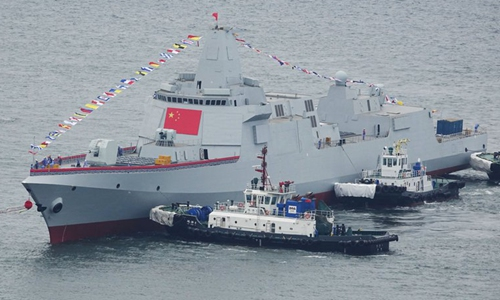 China launches powerful destroyers, delivery expected in two years