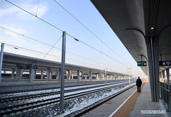 Beijing-Zhangjiakou high-speed railway opens