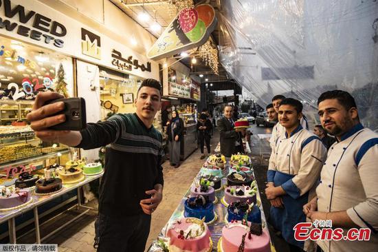 人们为叙利亚新年做准备