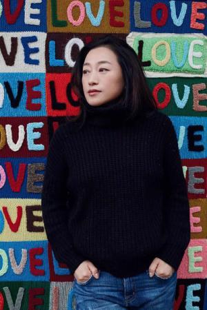 Ai Jing, artist.(Photo/China Daily)