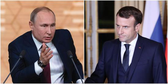 Putin, Macron voice concern over U.S. killing of Iranian commander