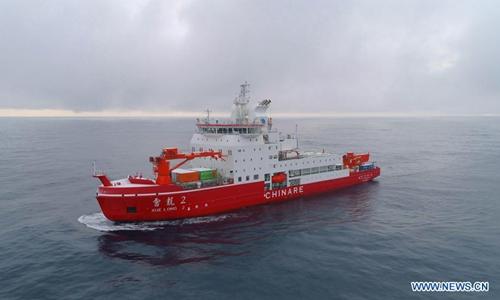 China conducts Antarctic survey