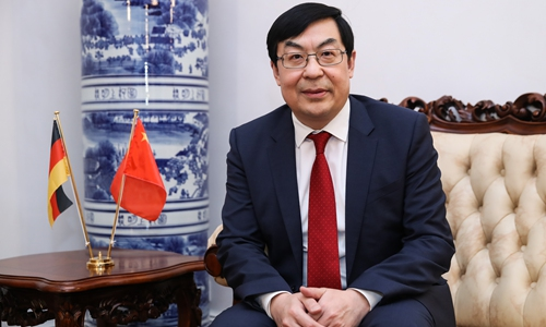 Wang Weidong, commercial counselor of the Chinese Embassy in Germany. (Photo/Courtesy of Chinese Embassy in Germany)