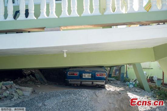 5.8 magnitude quake strikes Puerto Rico