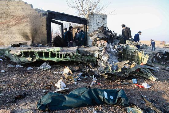 乌克兰客机坠毁,机上所有180架确认死亡