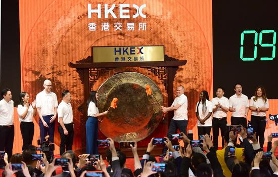 Hong Kong reinforces financial hub position with HKEX topping global IPO market