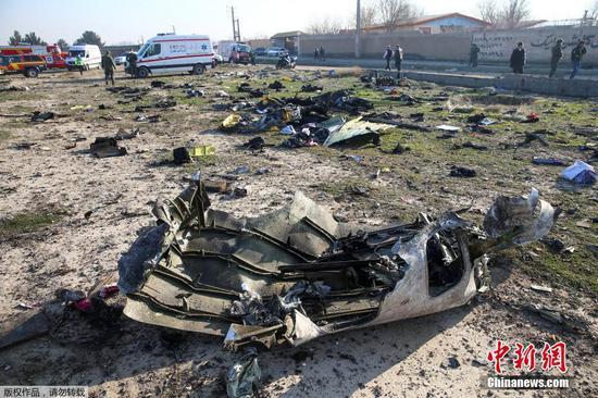Iran says it 'unintentionally' shot down Ukrainian passenger plane