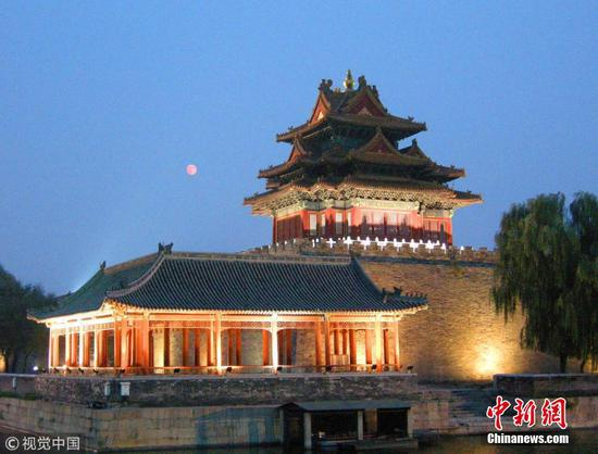 Corner Tower of the Palace Museum. (File photo/China News Service)