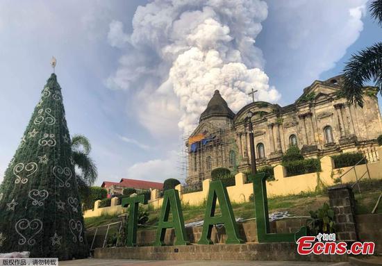 Philippine volcano erupts, triggering mass evacuations