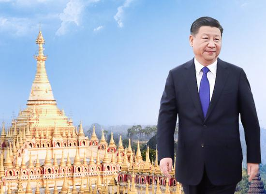 President Xi Jinping leaves for state visit to Myanmar