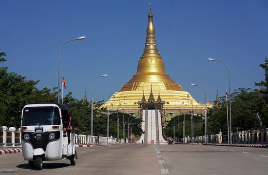 A glimpse of Nay Pyi Taw, capital of Myanmar