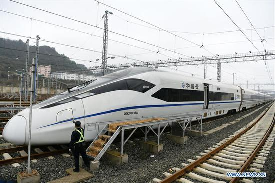 Additional late-night high-speed train service helps more travelers return home