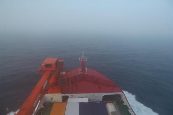 Xuelong 2 passes through westerlies