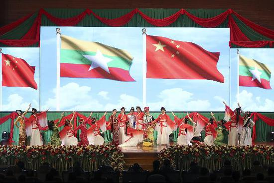 Xi, Myanmar leaders celebrate 70th anniversary of diplomatic ties