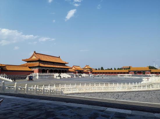 The Palace Museum in Beijing, capital of China, July 30, 2019. (Xinhua/Chen Xu)