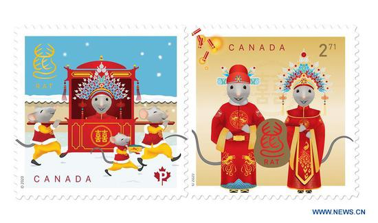 Canada Post unveils Year of Rat stamps and collectibles in Toronto