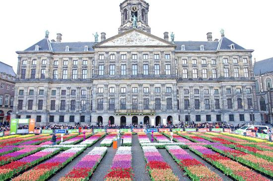 National Tulip Day held in Amsterdam, the Netherlands