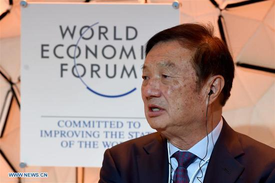 Ren Zhengfei at Davos: U.S. will further limit Huawei, but that's fine