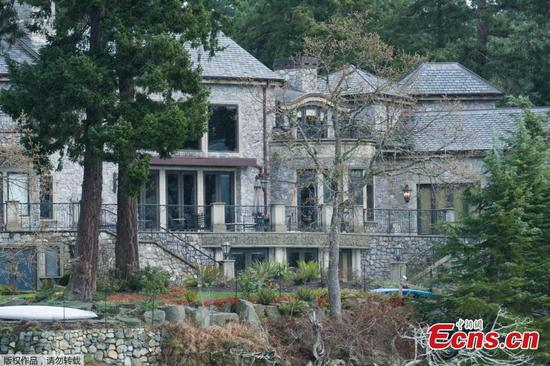 In pics: Residence of Harry and Meghan in British Columbia