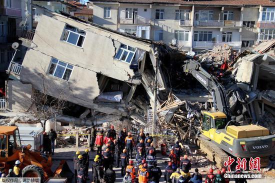 29 killed, 42 rescued in eastern Turkey earthquake