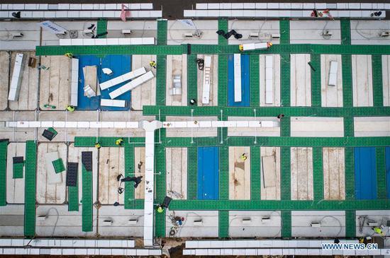 霍神山医院建设将于周日竣工