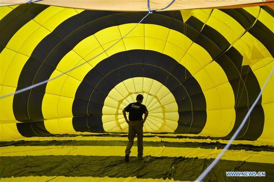 Hot air balloon festival kicks off in Pinang, Malaysia