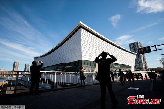 Ariake Arena inaugurated for Tokyo Olympic volleyball games