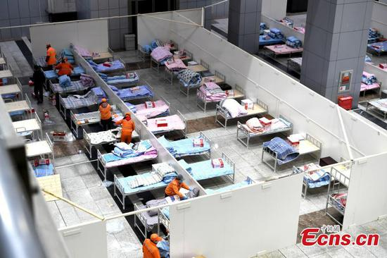 More module hospitals under construction in Wuhan for coronavirus patients
