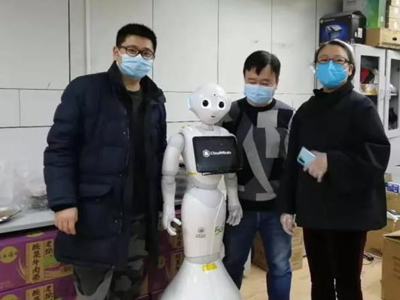5G-based medical robots mobilized in Wuhan hospitals