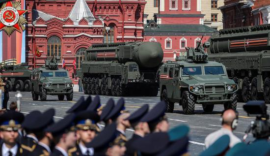 Russia to showcase newest weapons at V-Day parade