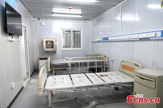 In pics: Inside wuhan's Leishenshan hospital