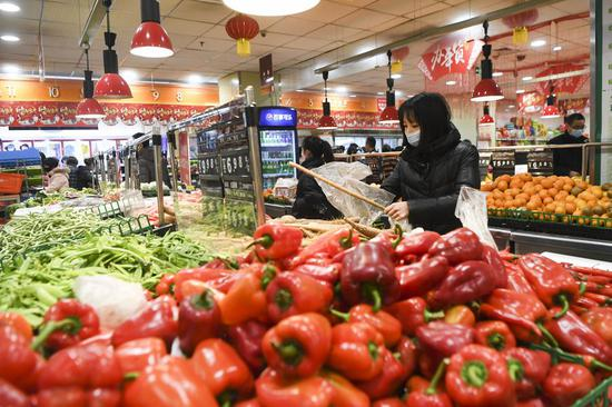 China reports sufficient vegetable supplies but higher prices