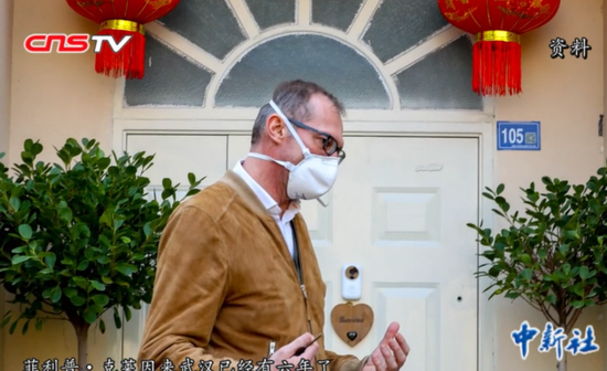 French doctor stays in Wuhan to care for patients