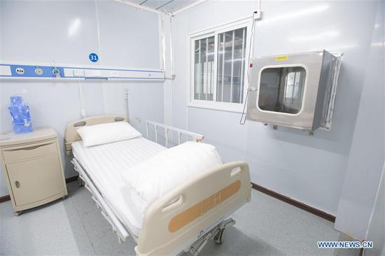 Leishenshan Hospital in Wuhan uses modular design based on layout of field hospital