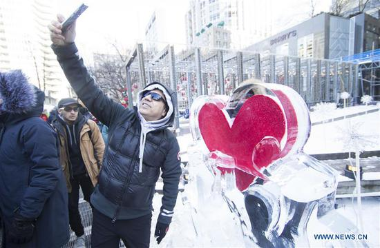2020 Bloor-Yorkville Icefest kicks off in Toronto