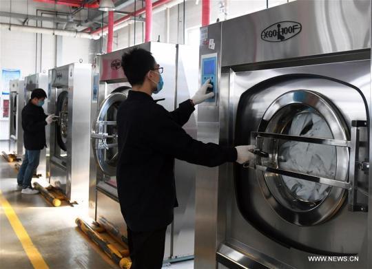 流行期间北京铁路洗衣服务实行更严格的清洁